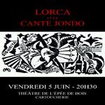 LORCA ET LE CANTE JONDO