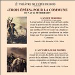 «TROIS ÉPÉES POUR LA COMMUNE»