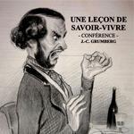 UNE LEҪON DE SAVOIR-VIVRE – Conférence